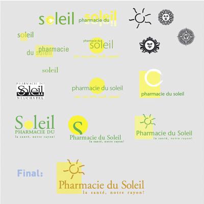 L'évolution de la création d'un logo